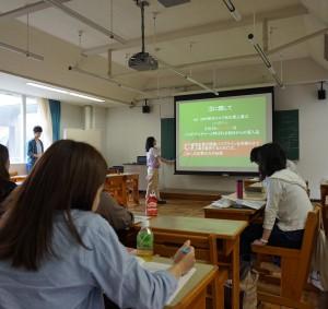 学生によるプレゼンテーション
